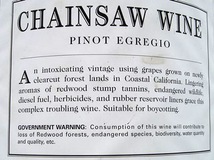 Stop Wineries from Destroying Redwoods