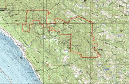 Preservation Ranch - topo
