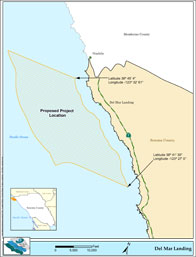 Wave energy project off the Gualala coast?
