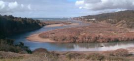 Gualala River estuary