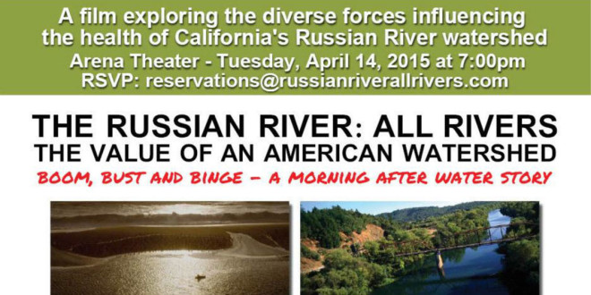 """Tues, April 14: """"Russian River: All Rivers"""" at Arena Theater"""