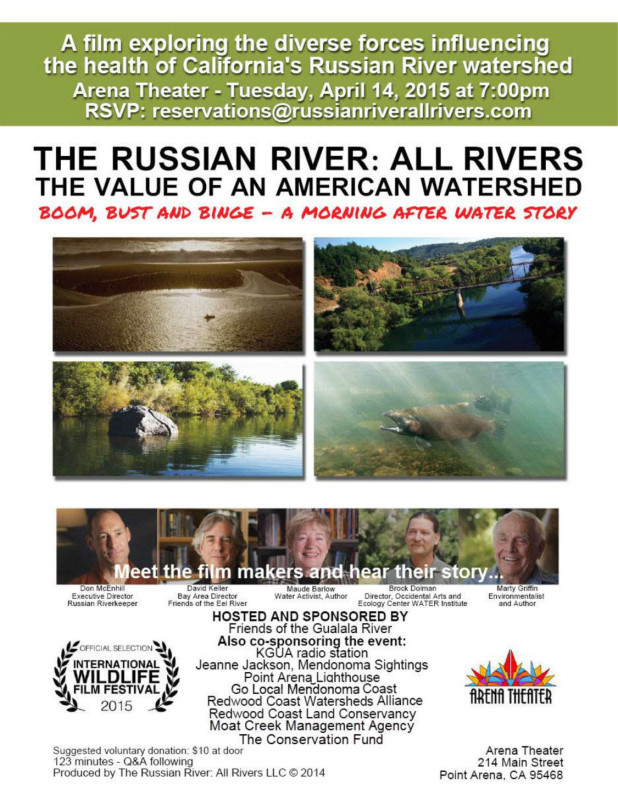 The Russian River: All Rivers poster