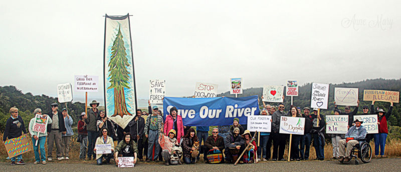 """Rally for the River"" - July 16, 2016; photo credit: copyright © 2016 Anne Mary Schaefer, used with permission"