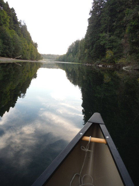 Kayaking on the Gualala River by Linda Bostwick