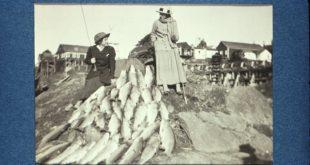 Ladies' Day Steelhead - December 1915; photo courtesy of Will Guyan