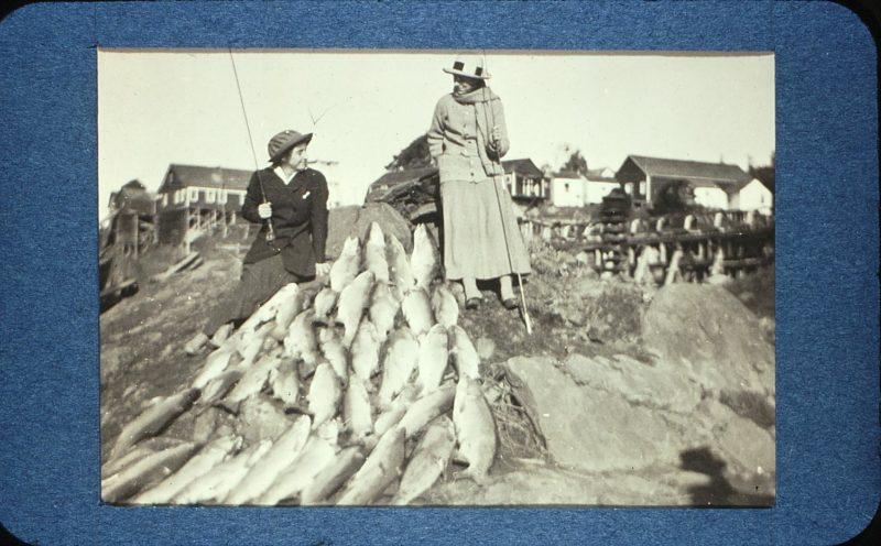 Ladies' Day Steelhead - December 1915