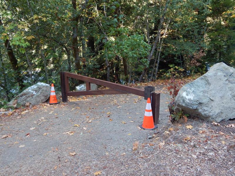 Haupt Creek gate, 2020