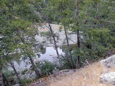 8/18/08 Wheatfield Fork Gualala River near the YMCA Camp Gualala