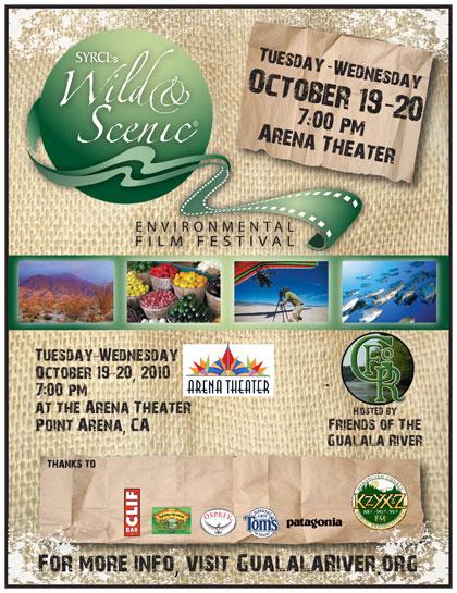 Wild & Scenic Environmental Film Festival poster