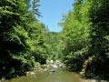 Buckeye Creek above Soda Springs Reserve