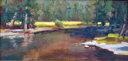 'Lyell Fork - Late Summer' by Marylou Schingler