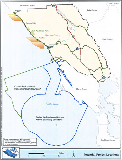 Wave energy project off the Sonoma coast?